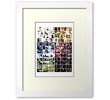 Criminal Minds Colour Print Framed Print