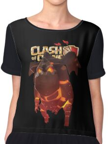 Clash of Clans Lava Hound Chiffon Top
