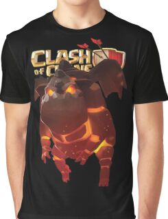 Clash of Clans Lava Hound Graphic T-Shirt