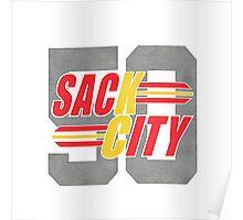 Sack city Houston Poster