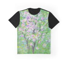 Rhododendron flowers in spring Graphic T-Shirt