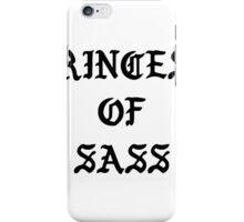 PRINCESS OF SASS / KANYE PABLO  iPhone Case/Skin