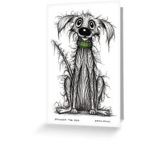 Stinker the dog Greeting Card
