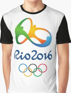 Olympics in Rio 2016 Best Logo Graphic T-Shirt