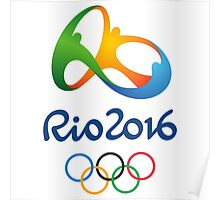 Olympics in Rio 2016 Best Logo Poster