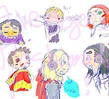 Avengers Mashimaro by RacoonAndSunshi
