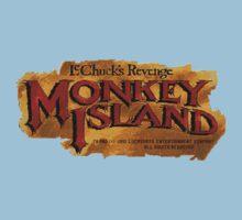 Monkey Island 2 logo One Piece - Short Sleeve
