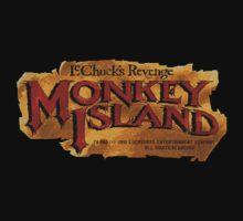 Monkey Island 2 logo Baby Tee