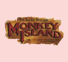 Monkey Island 2 logo Kids Tee