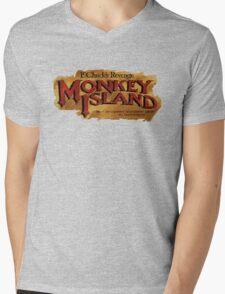 Monkey Island 2 logo Mens V-Neck T-Shirt