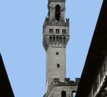 Uffizi Gallery and Palazzo Vecchio Florence Sticker
