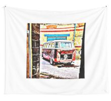 Walk Back Wall Tapestry