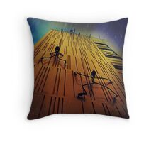 I can see the pub from here Throw pillow and tote bag Throw Pillow