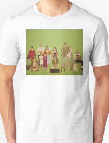 Moonrise Kingdom Cast Unisex T-Shirt