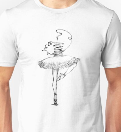ribbon dancer Unisex T-Shirt