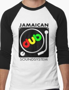 Jamaican Dub Sound System Men's Baseball ¾ T-Shirt