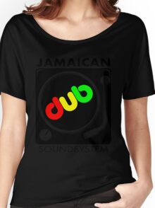 Jamaican Dub Sound System Women's Relaxed Fit T-Shirt