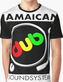 Jamaican Dub Sound System Graphic T-Shirt