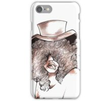 woman with Hat iPhone Case/Skin