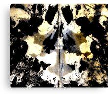 Layered Inkblot Canvas Print