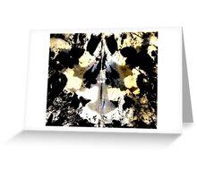 Layered Inkblot Greeting Card