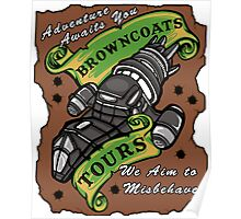 Browncoats Tours Poster