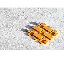 Bankers blocks. Photographic Print