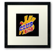 Club LOL Sign Framed Print