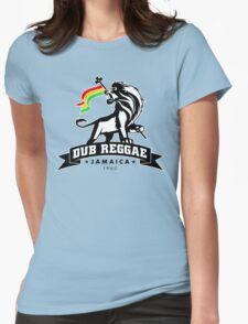 Dub Reggae Jamaica Womens Fitted T-Shirt