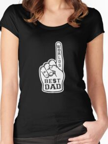 Worlds Best Dad Women's Fitted Scoop T-Shirt