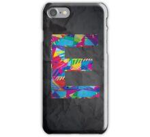 Fun Letter - E iPhone Case/Skin