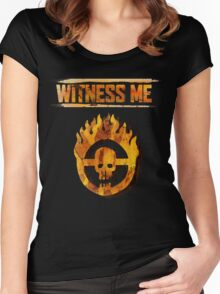 Mad Max - Witness Me Women's Fitted Scoop T-Shirt