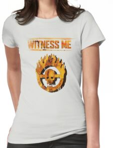 Mad Max - Witness Me Womens Fitted T-Shirt