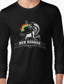 Dub Reggae Jamaica - Black Edition Long Sleeve T-Shirt