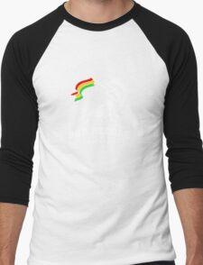 Dub Reggae Jamaica - Black Edition Men's Baseball ¾ T-Shirt
