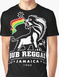 Dub Reggae Jamaica - Black Edition Graphic T-Shirt