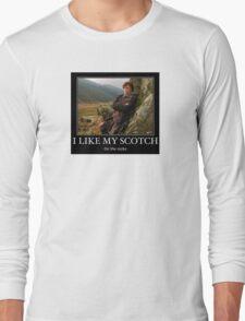 I like my scotch on the rocks - Outlander Long Sleeve T-Shirt