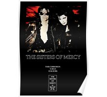 This Corrosion - The Sisters of Mercy - The world's End Poster