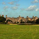 Caernarfon Castle, North Wales, UK by AnnDixon