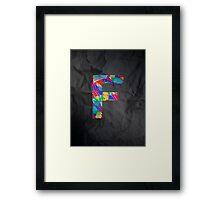 Fun Letter - F Framed Print