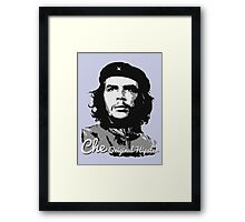 Che - Original Hipster (Che Guevara, #1 in the Original Hipster Series) Framed Print