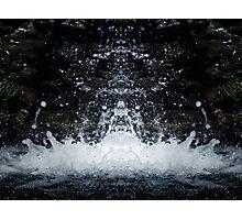 Water Symmetry Photographic Print