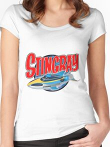 Stingray Women's Fitted Scoop T-Shirt