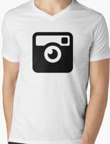 Insta Cam Mens V-Neck T-Shirt