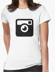Insta Cam Womens Fitted T-Shirt