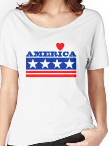 Tee t-shirt, 4th July Us Independence Day!!!!! Women's Relaxed Fit T-Shirt