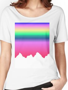 Sunset Mountains Women's Relaxed Fit T-Shirt