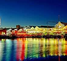 Cape Town Waterfront by AntonAlberts