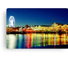 Cape Town Waterfront Canvas Print