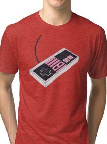 Nes controller Tri-blend T-Shirt